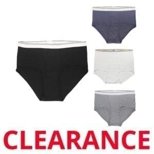 Wholesale Men's Assorted Briefs (3XL Only)