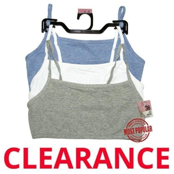 Wholesale Ladies Brand Name Sport Bra - 3 Pack