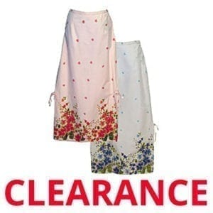 Wholesale Ladies' Floral Print Full Skirt