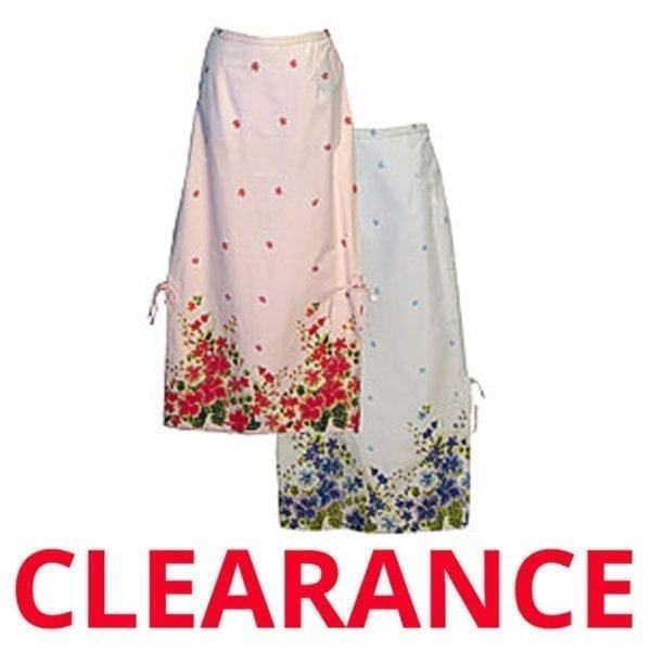 Wholesale Ladies' Floral Print Full Skirt