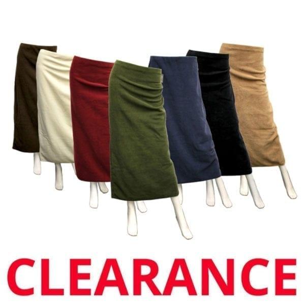 Wholesale Polar Fleece Full length Skirt