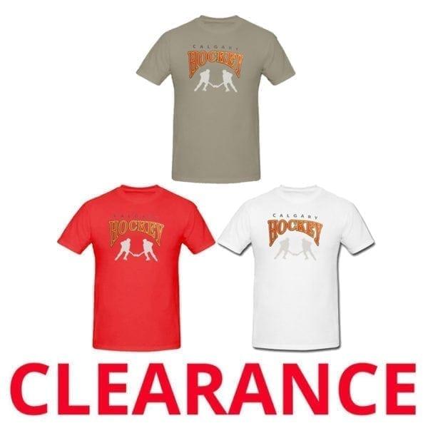 Wholesale Youth Crew Neck T-Shirts - Calgary Hockey