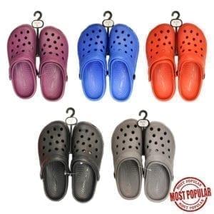 Wholesale Ladies Croc Style Sandals (Size 6 - 10)