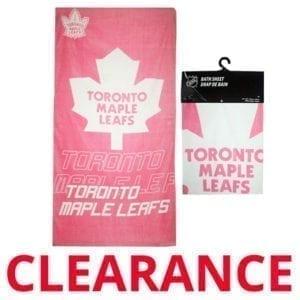 Wholesale Toronto Maple Leafs Beach Towel - Pink