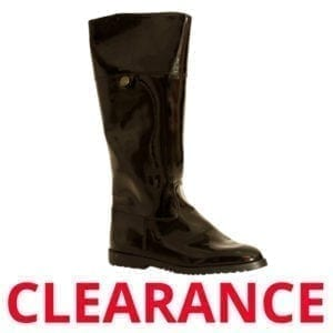 Wholesale Ladies Black Patten Fashion Boot
