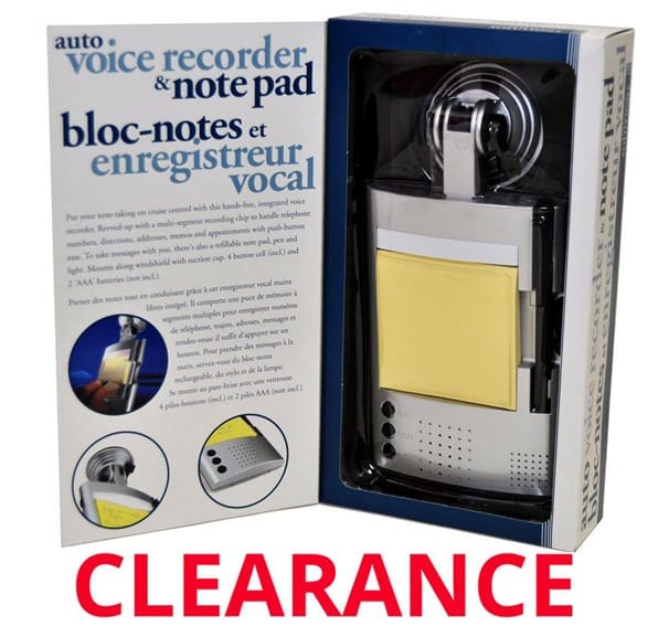 Wholesale Auto Voice Recorder and Note Pad