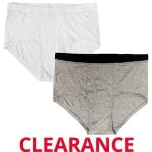 Wholesale Men's Brand Name Briefs, 2X-Large