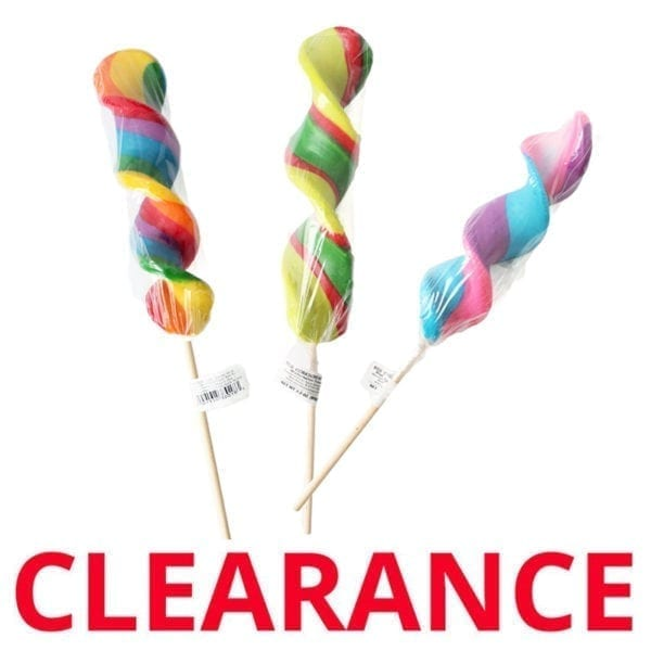 Wholesale Corkscrew Twist Lollipops