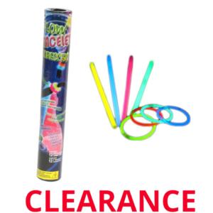 Wholesale 12-Pack 8 Glow Stick Bracelet