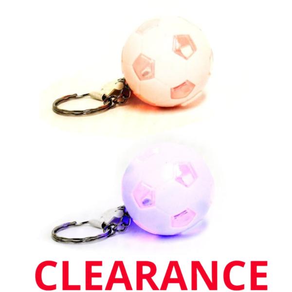 Wholesale Light Up Soccer Keychain