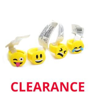 Wholesale Silicone Emoji Rings