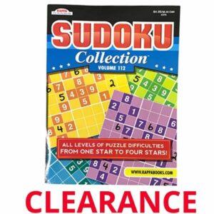 Wholesale Sudoku Activity Books – 96 PGS