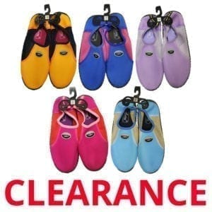 Wholesale Ladies' Aqua Shoes