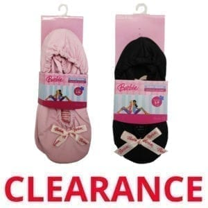 Wholesale Brand Name Barbie Girls' Ballet Slippers