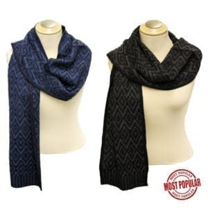 Wholesale Men's/Unisex Winter Scarves