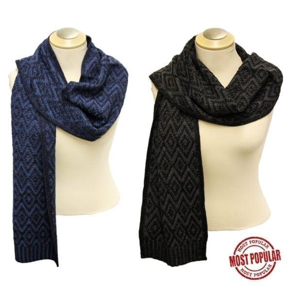 Wholesale Men's/Unisex Winter Scarves
