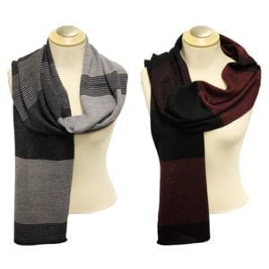 Wholesale Men's/Unisex Fashion Winter Scarves