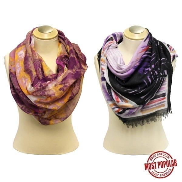 Wholesale Ladies Fashion Spring Scarves