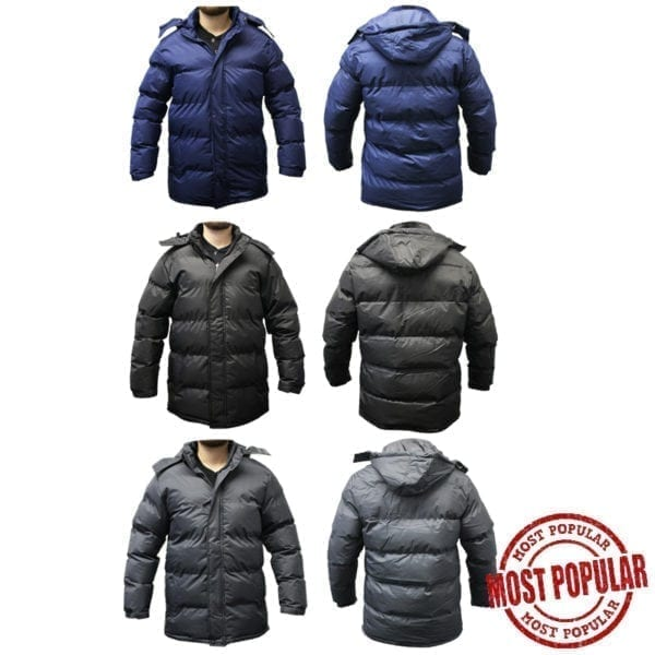 Wholesale Insulated Adult Winter Jacket (Size S - XL)