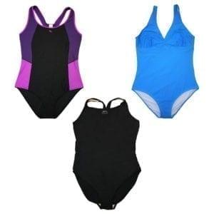 Wholesale Ladies' Bathing Suits (L - 2XL)