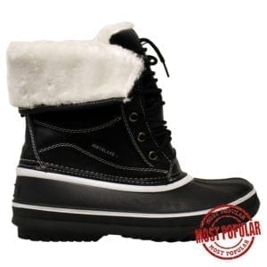 Wholesale Ladies'/Youth Winter Boots (Size 5-10) - Black
