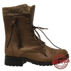 Wholesale Ladies'/Youth Winter Boots (Size 5-10) - Brown