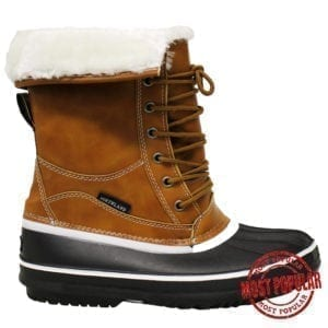 Wholesale Ladies'/Youth Winter Boots (Size 5-10) - Tan