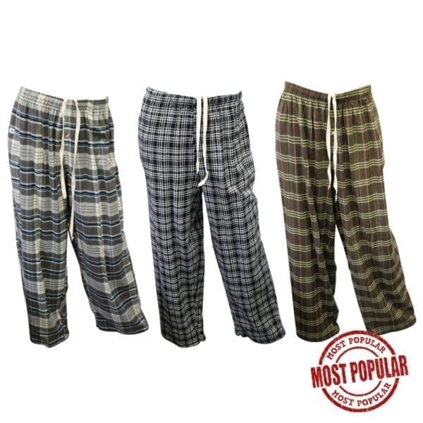 Wholesale Adult Flannel PJ Pant (Size S-XL)