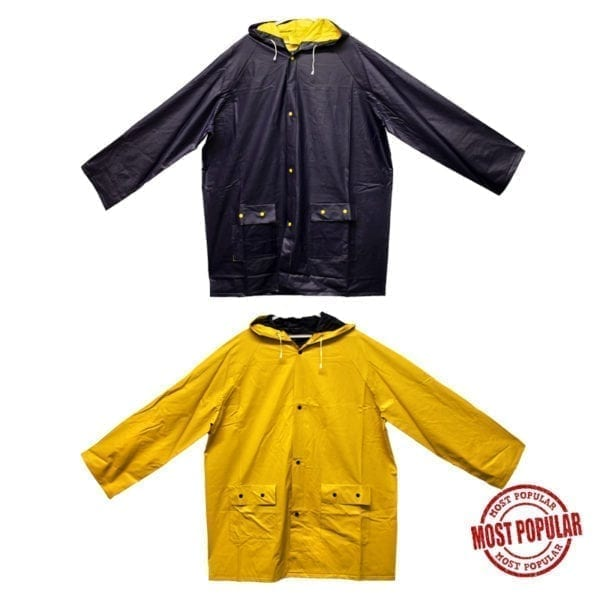 Wholesale Brand Name Unisex Double-Sided Raincoats (Sizes S-XL)