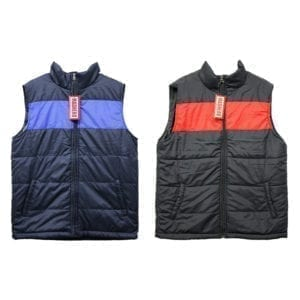Wholesale Men's/Unisex Winter Vest (Size XS - XL)
