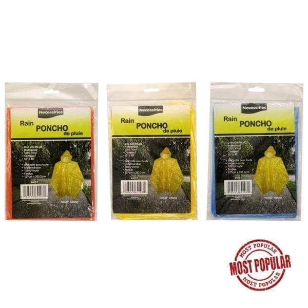 Wholesale Adult Rain Poncho