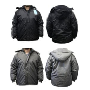 Wholesale Men's Winter Jacket With Stripes (Sizes S - 2XL)