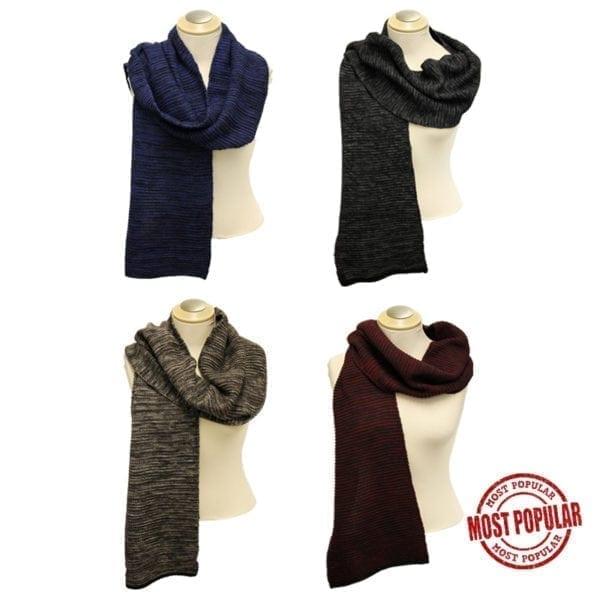 Wholesale Men's/Unisex Fashion Winter Scarves