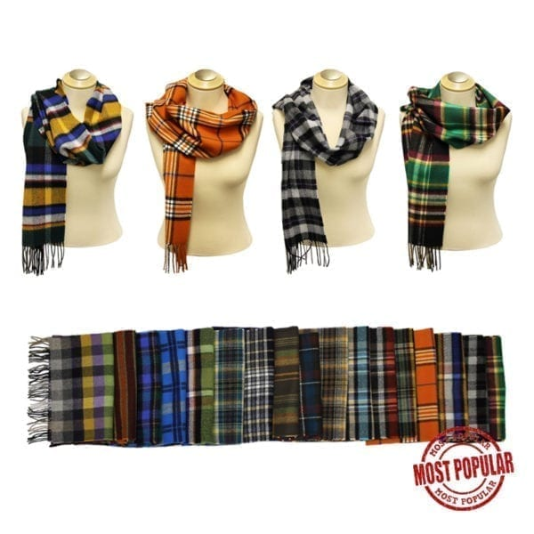Wholesale Adult Pattern Fringe Scarves