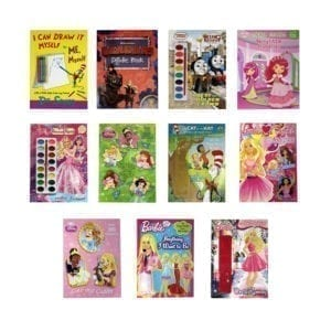 Wholesale Kids Name Brand Assorted Activity Books