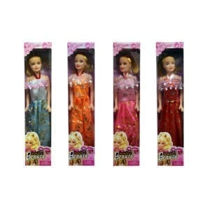 Wholesale Assorted Girl Dolls With Evening Gown (Full Size)