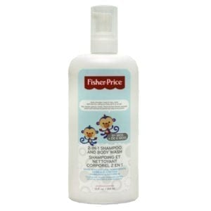 Wholesale Brand Name Fisher Price Infant 2 in 1 Shampoo and Body Wash - 354ml