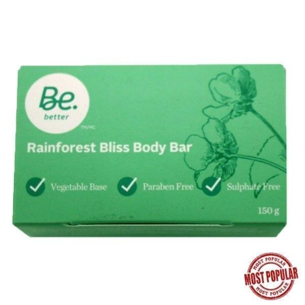 Wholesale Rainforest Bliss Body Bar - 150g