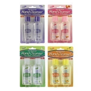 Wholesale 2-Pack Scented Hand Sanitizer (60mL)