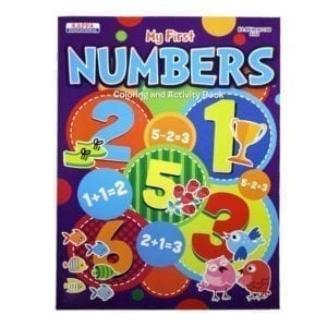 Wholesale My First Numbers Colouring and Activity Book