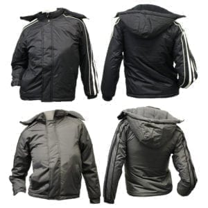 Wholesale Boy's Winter Jacket With Stripes (Sizes 4 - 14)