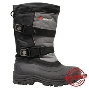 Wholesale Men's Nylon Winter Boots With Buckle (Size 7-12)