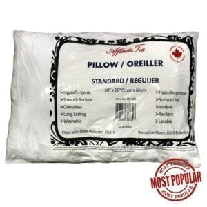 "Wholesale Standard Size Pillow 18"" x 26"""