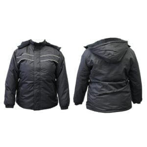 Wholesale Ladies Black Winter Jackets (Sizes S - 2XL)
