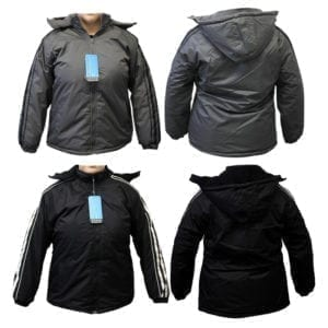 Wholesale Ladies Winter Jackets With Stripes (Sizes S - 2XL)