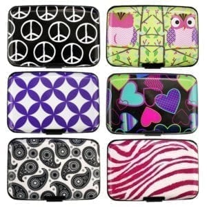 Wholesale Ladies' Aluminum Card Wallets