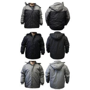 Wholesale Men's Winter Jacket (Sizes S - 2XL)