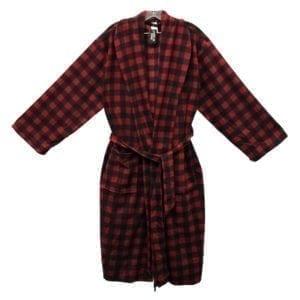 Wholesale Men's/Unisex Micro Polar Fleece Bathrobe (Size S-XL)