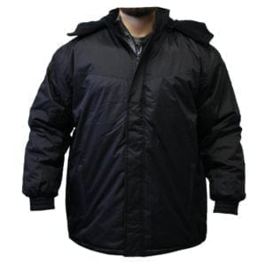 Wholesale Men's Black Winter Jacket (Sizes S - 2XL)