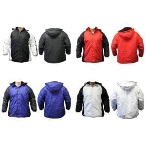 Wholesale Plus Size Ladies' Winter Jackets (Sizes 2XL - 3XL)